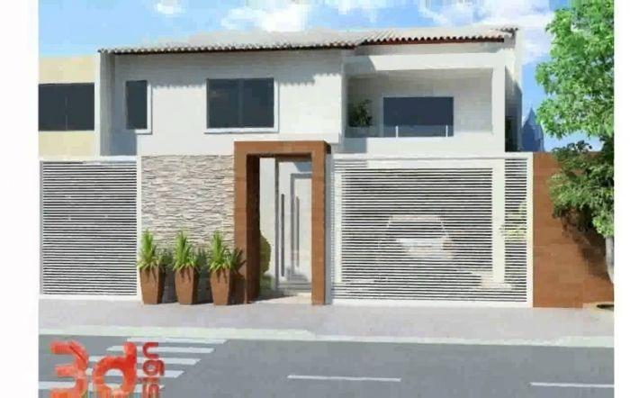 21 frentes de casas bonitas planos y fachadas todo para el for Casas pequenas y bonitas