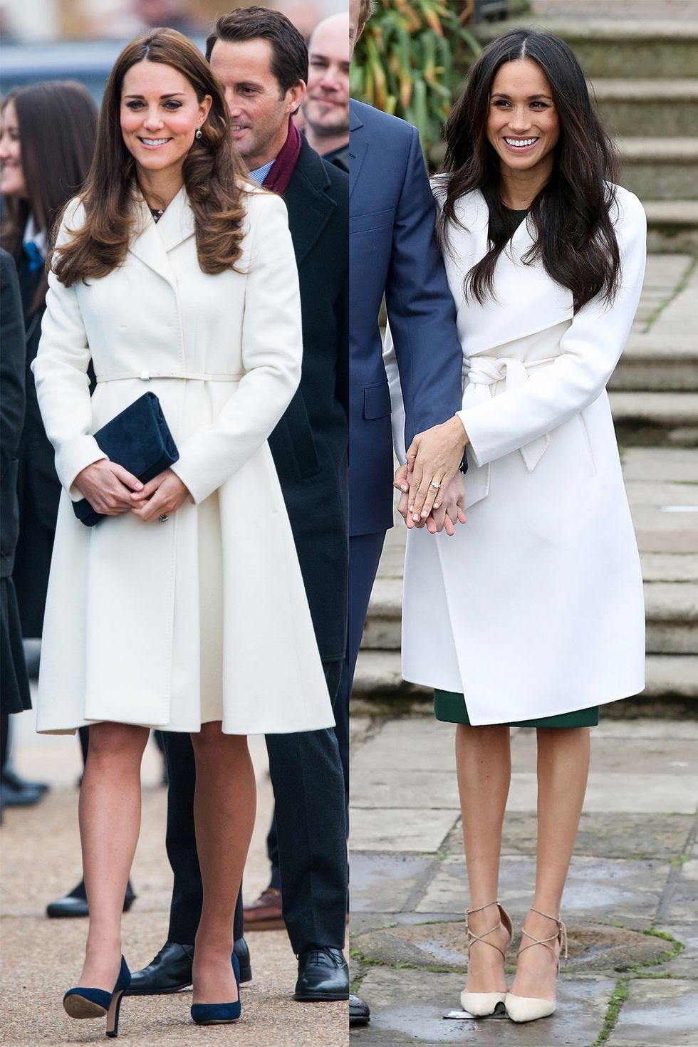 kate middleton and meghan markle s matching outfits kate middleton and meghan markle photos meghan markle style kate middleton style kate and meghan kate middleton and meghan markle photos