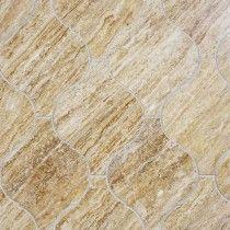 Beacon Noce Travertine Polished Marble Tile Kitchen Dec - Closeout travertine tile