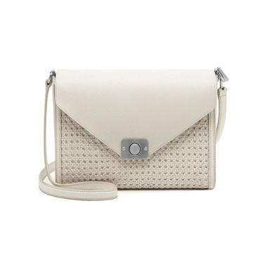 0eeed072b7e Your Chance to Pre-order the Mulberry Delphie Bag - Delphie in Cream    Powder Duo Colour Woven Leather