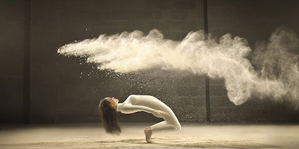 At first look, these stunning freeze-frame images of dancers are captivating.