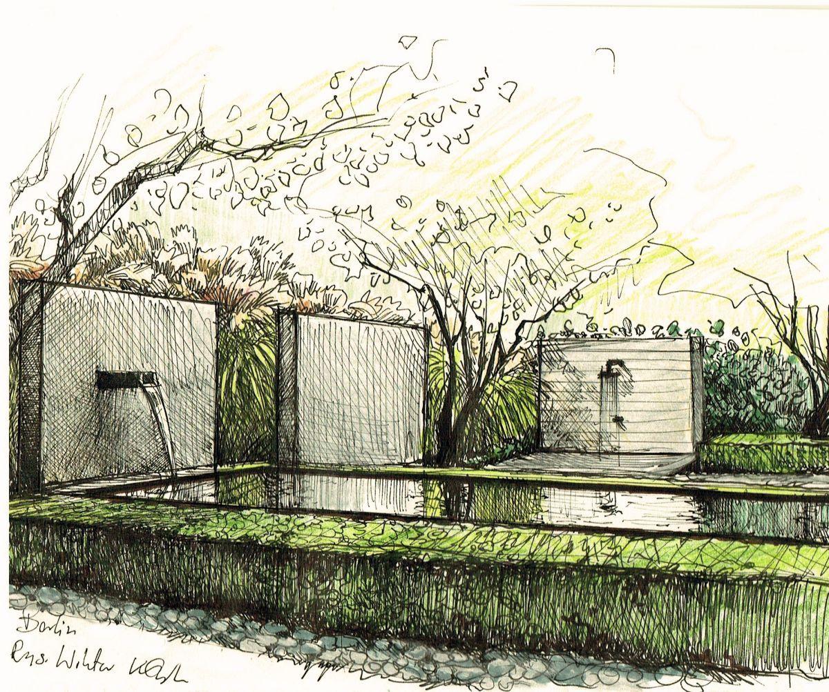 Ideas De Diseño De Jardines Residenciales: Diseño De Paisaje