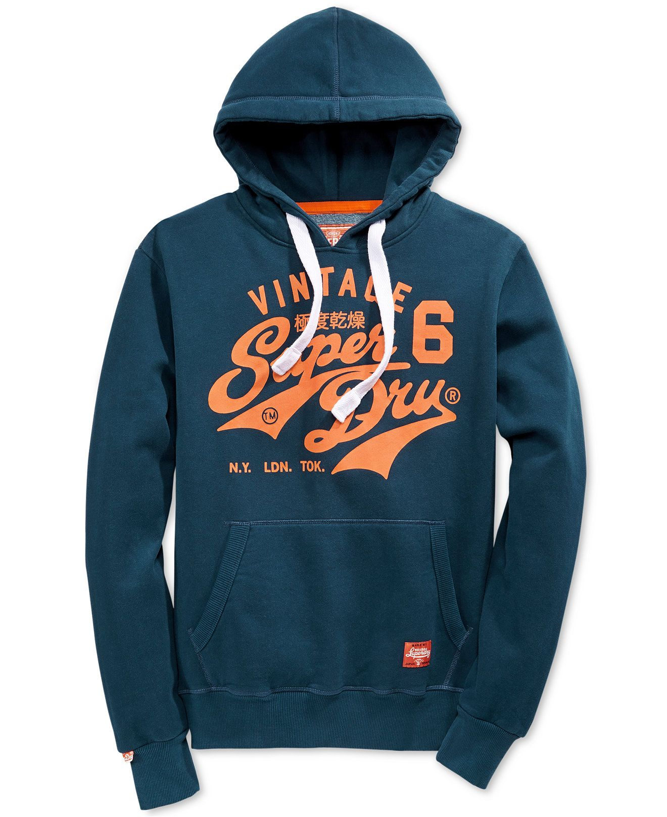 Superdry Men's Graphic Print Hoodie Hoodies & Sweatshirts