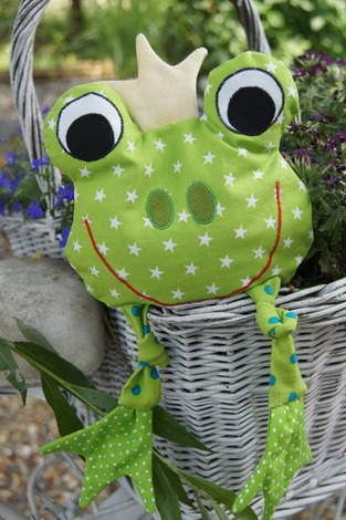 Makerist - Froggy Körnerfrosch - 1 #stuffedtoyspatterns