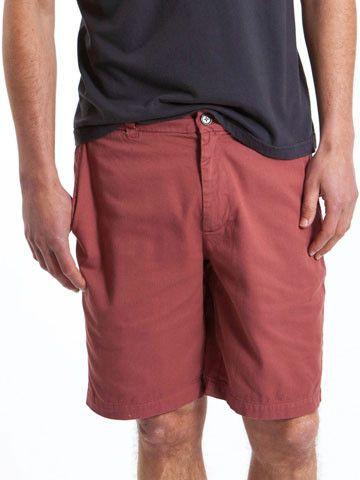 Walk Shorts in Harvard Red