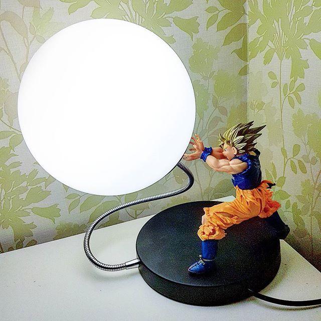 Goku Spirit Bomb Lamp 2 0 Lamp Dragon Ball Dragon Ball Goku