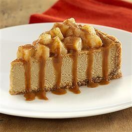 Decadent Caramel Apple Cheesecake