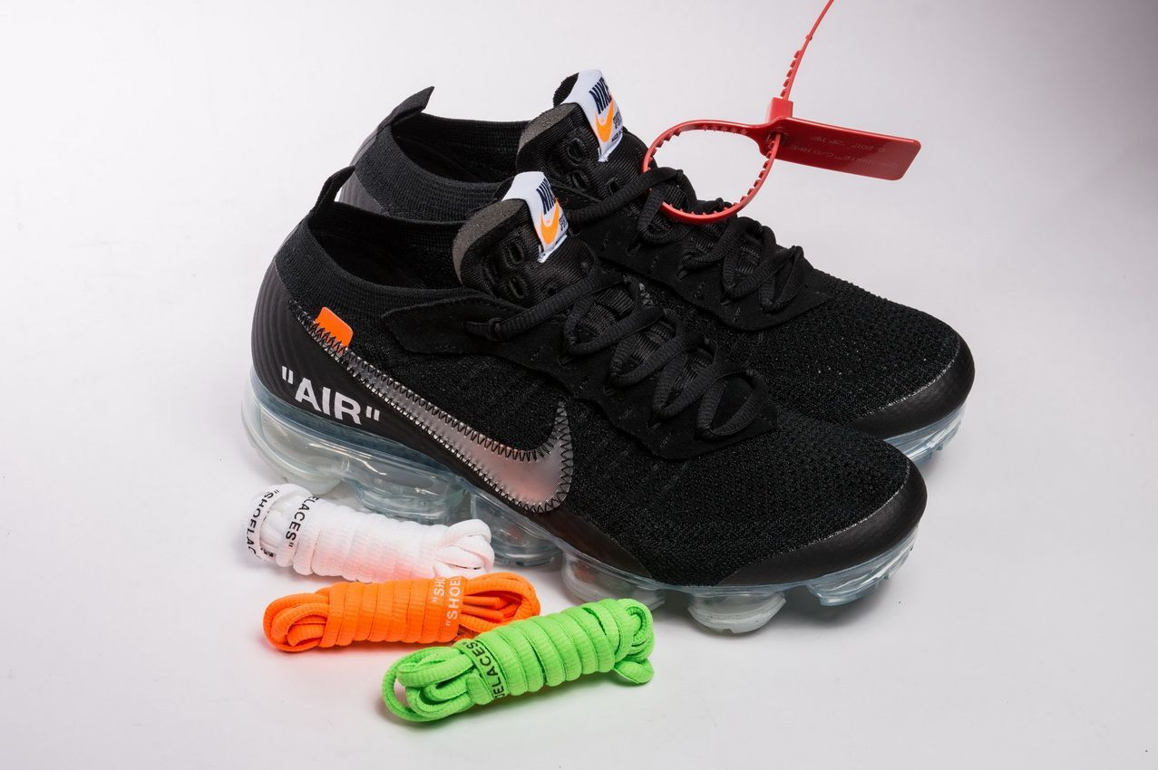 a0adb670d942a Off-White x Nike Air VaporMax 2.0 2018 Black AA3831-002