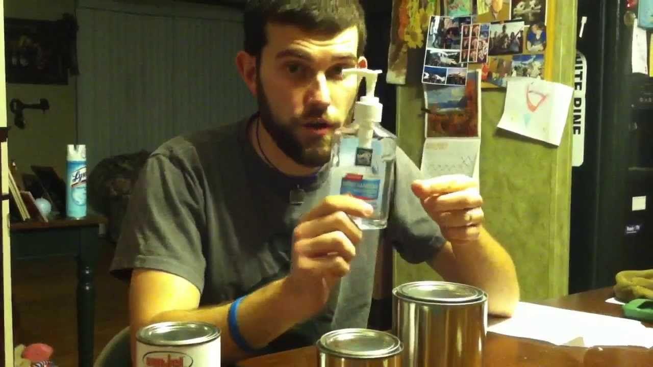 Diy How To Make Hand Sanitizer