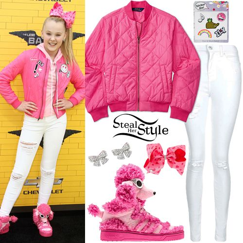 8d27a9c42 JoJo Siwa: Adidas Tracksuit, Unicorn Tee | Steal Her Style | Clothes ...