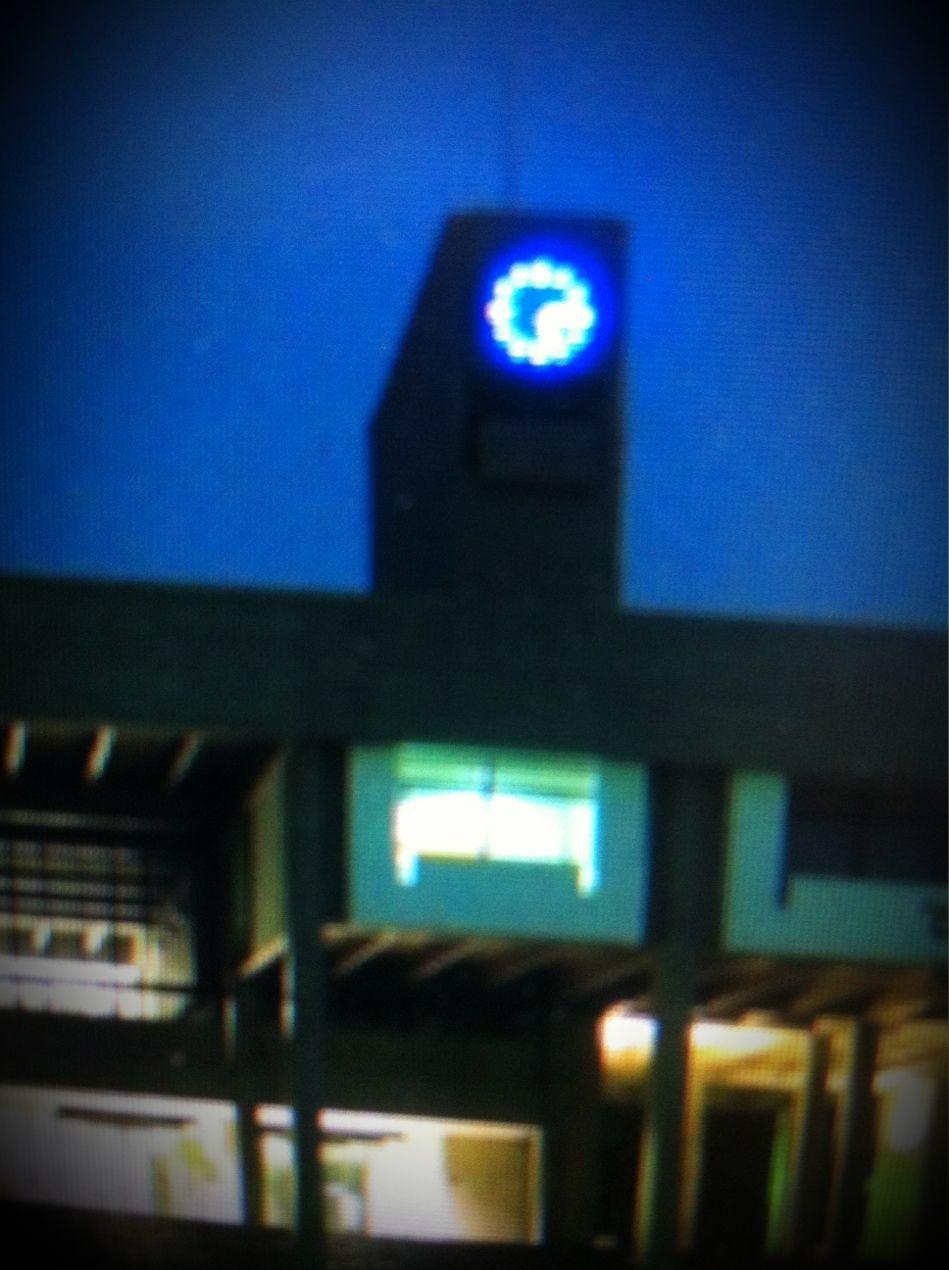 名古屋大学豊田講堂青色LED時計 氏原直樹のナオキング通信