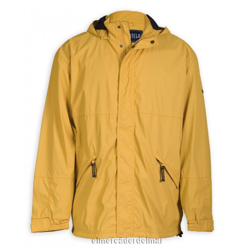 48c1fe602087f Chubasquero chaqueta náutico de poliuretano de hombre
