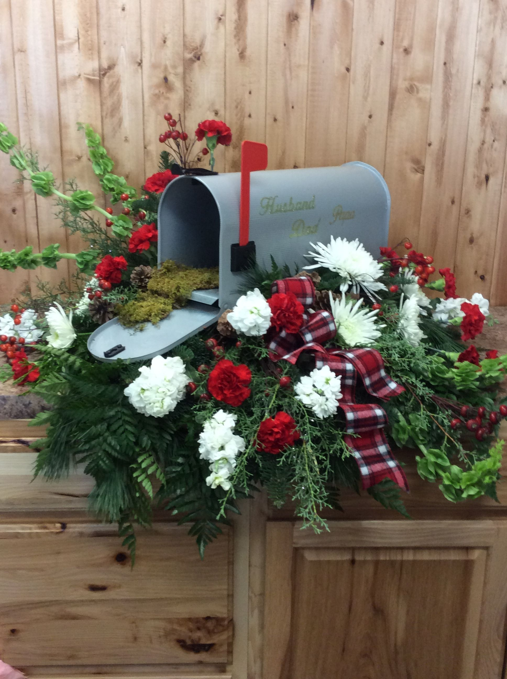 Unique Casket Spray For A Mail Carrier Www