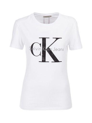 Calvin Klein Jeans Shrunken-paita | Trikoopaidat | Naiset | Stockmann.com