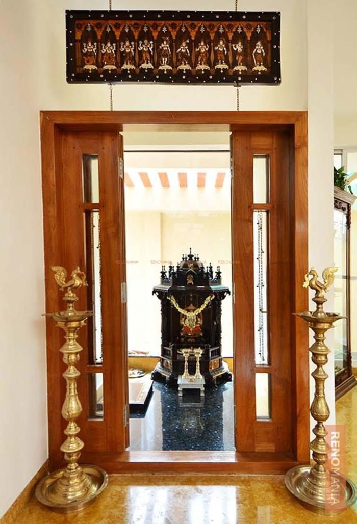 9 Traditional Pooja Room Door Designs In 2020: Https://renomania.com/designs/photos/puja/p/2