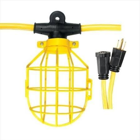 Construction Light String Cage For Trouble Light  Homes  Pinterest  Outdoor Parties Lights