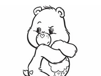 Grumpy Care Bear Coloring Page