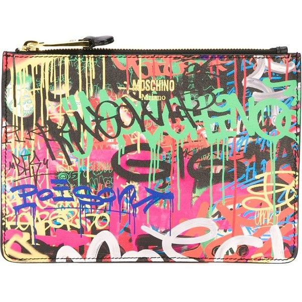 Sac Graffiti Print Moschino
