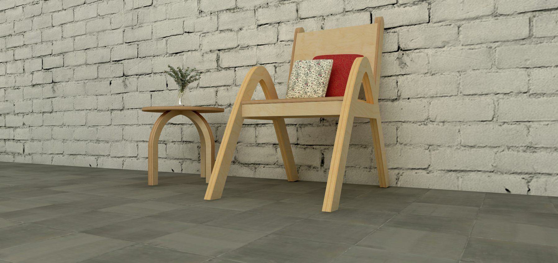 Arno Chair is handmade in Australia, strong and sturdy