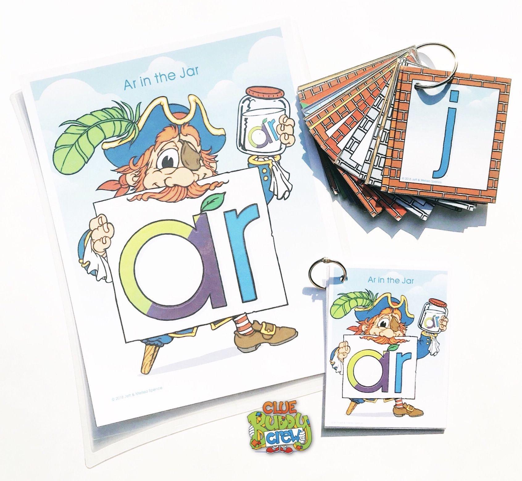 Ar Ar In The Jar R Controlled Vowel Word Buddy Poster