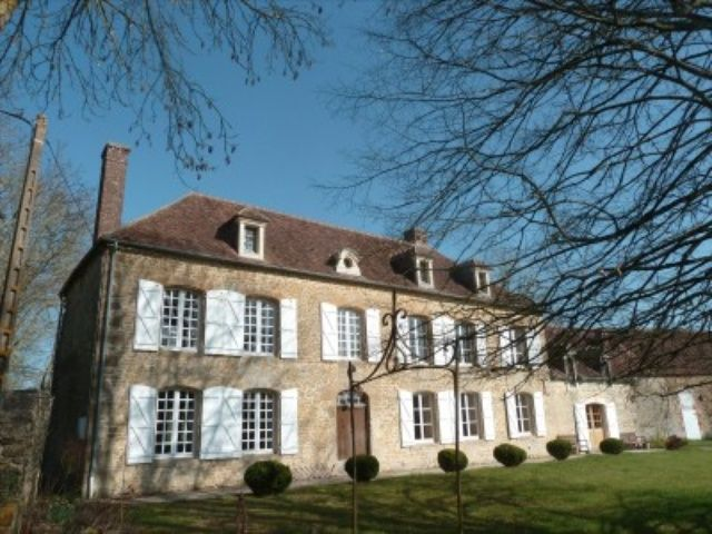 Manor house, renovated 18th c., Orne, Normandy