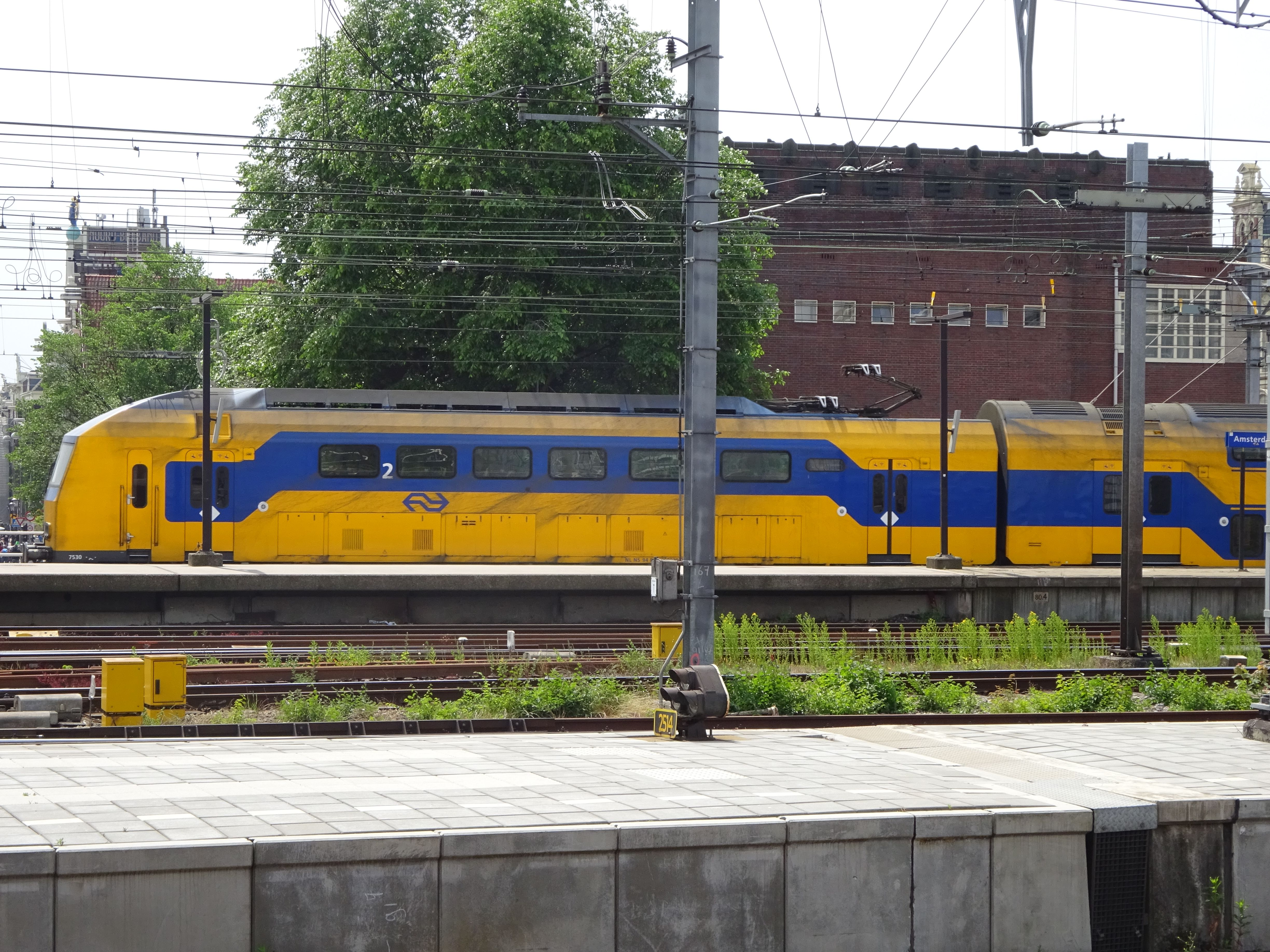at Amsterdam Central 2015
