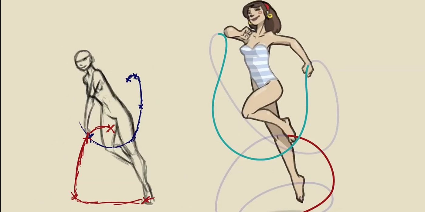 Felix Sputnik Gives You An Indepth Explanation Of The Skipping Motion In  Animation In