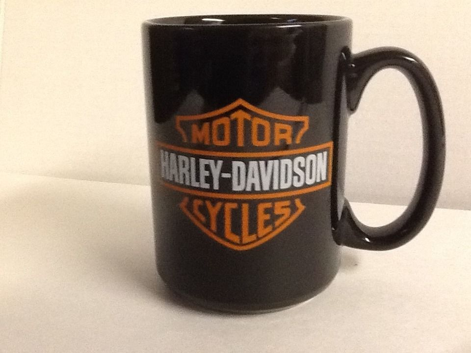 Harley Davidson Mug Motor Cycles Coffee Cup State College Pa Dealer