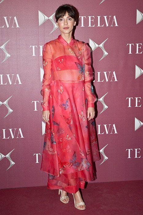 Photocall De Los Premios TELVA Moda 2014   Vestido de mariposa ...