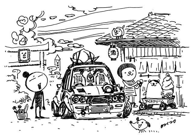 Car Illustration おしゃれまとめの人気アイデア Pinterest Cuneyt Esgin アートのアイデア 変な車 車 イラスト