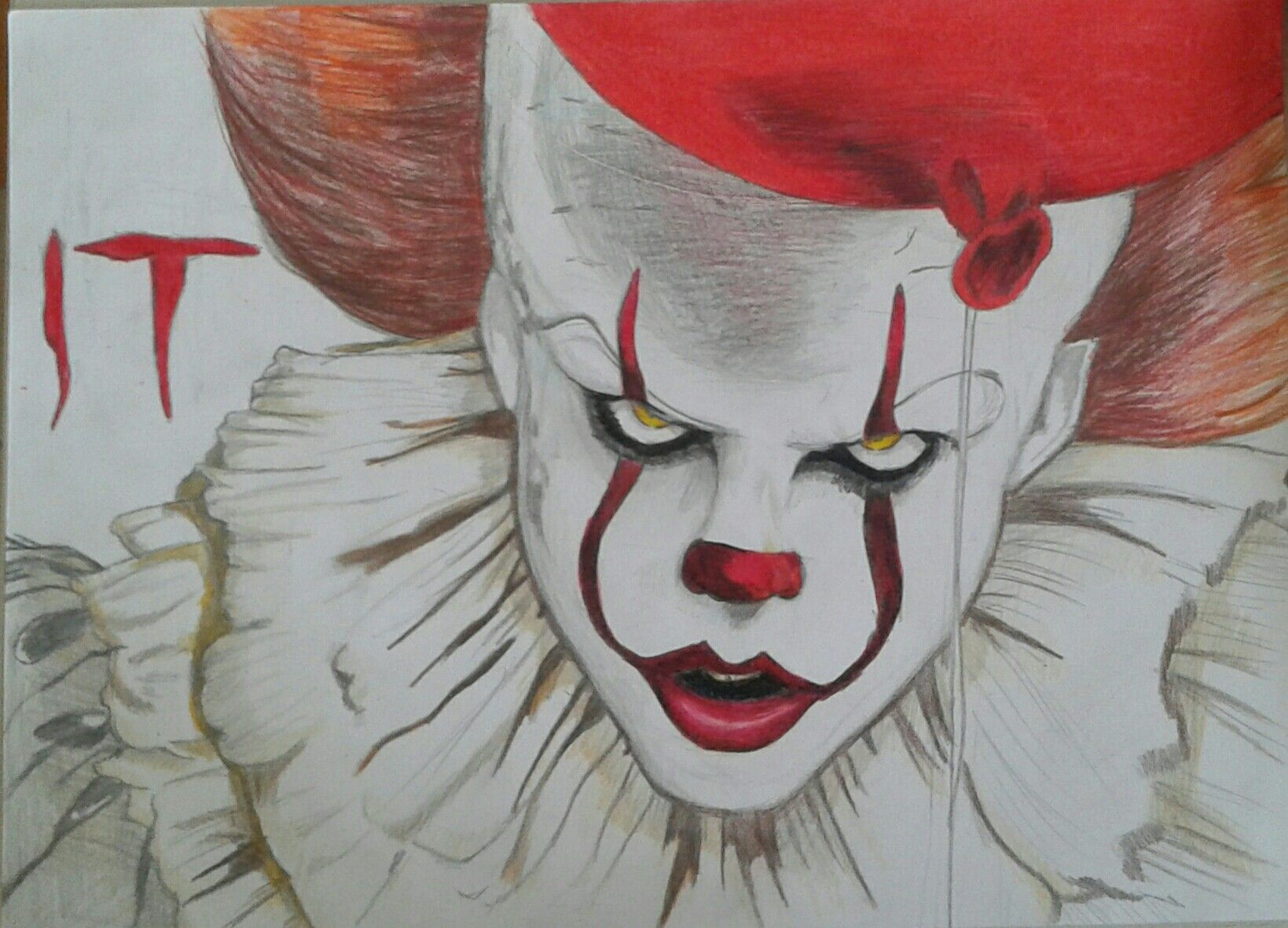 Pin De Luisa Velosa En Cruel 3 Dibujar Arte It El Payaso Y