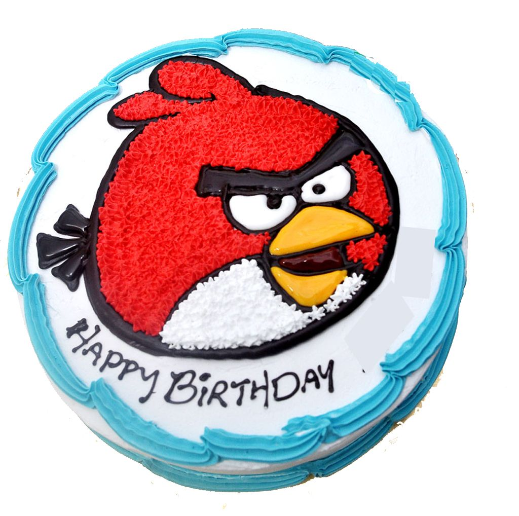 Red Angry Birds Birthday Cake - Google Search