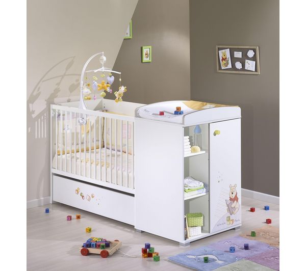 sauthon lit b b volutif disney baby prix promo 440 00 ttc au lieu de 470 00. Black Bedroom Furniture Sets. Home Design Ideas