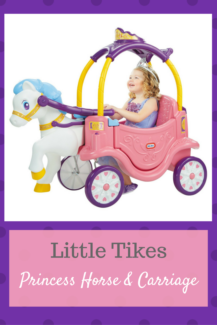 Little Tikes Princess Horse Carriage Ad Gift Baby Toy