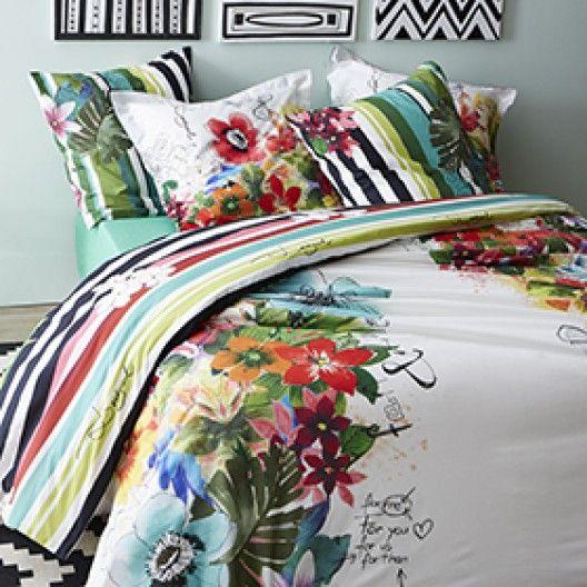 la housse de couette desigual jungle zodio pinterest. Black Bedroom Furniture Sets. Home Design Ideas