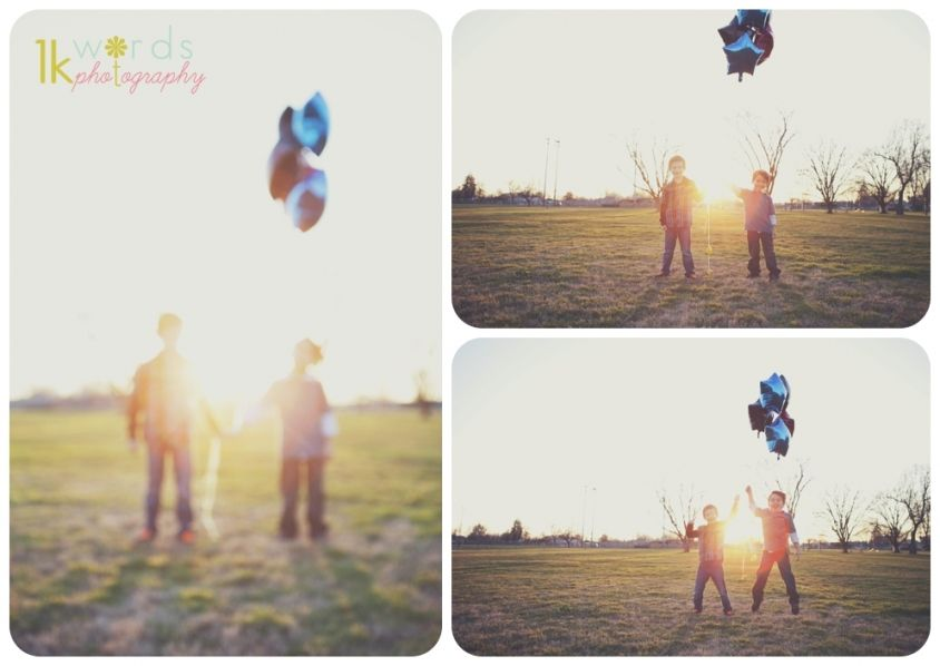 http://www.worth1kwords.com #balloons #silly_photos #children #photography #backlit
