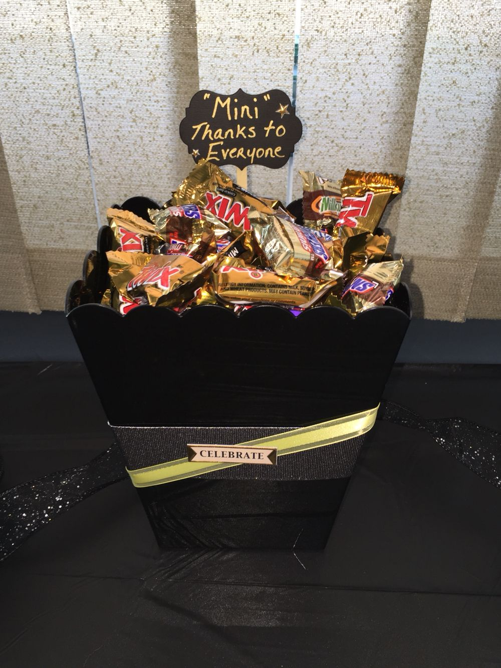 fill with their favorite candies find this pin and more on graduation party ideas