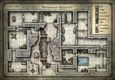 graphic regarding Redbrand Hideout Map Printable named DD Rookie Mounted Maps Gaming Maps within just 2019 Dungeon maps