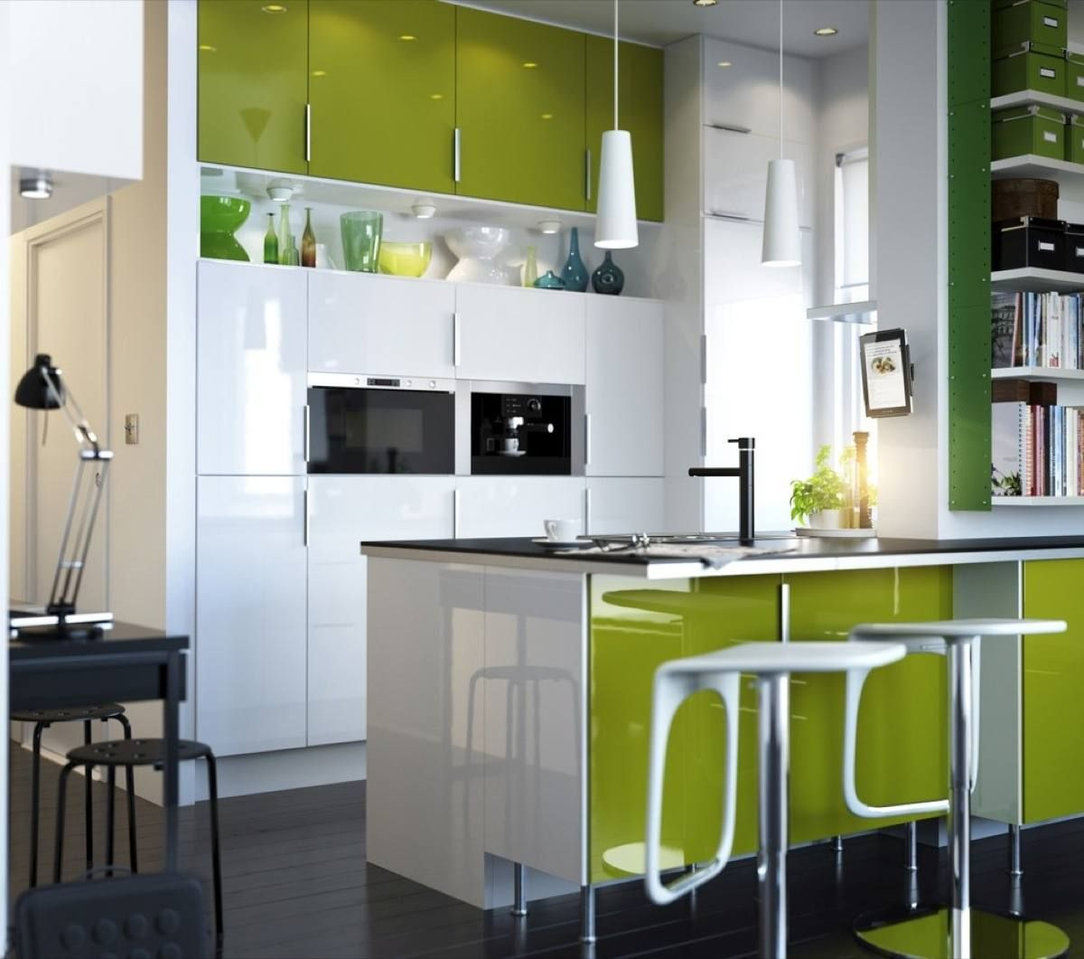 lime green ikea kitchen design 2012 cuisine pinterest ikea