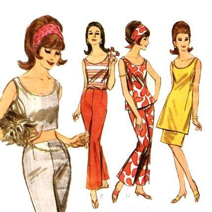 Vintage 60 Ladies Lounge Wear Lounge Wear 60 Fashion How To Wear