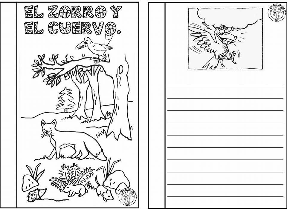 Estupendo Material Para Redactar La Fábula Del Zorro Y El Cuervo