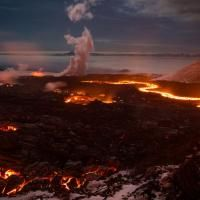 Russia. L'eruzione in Kamchatka