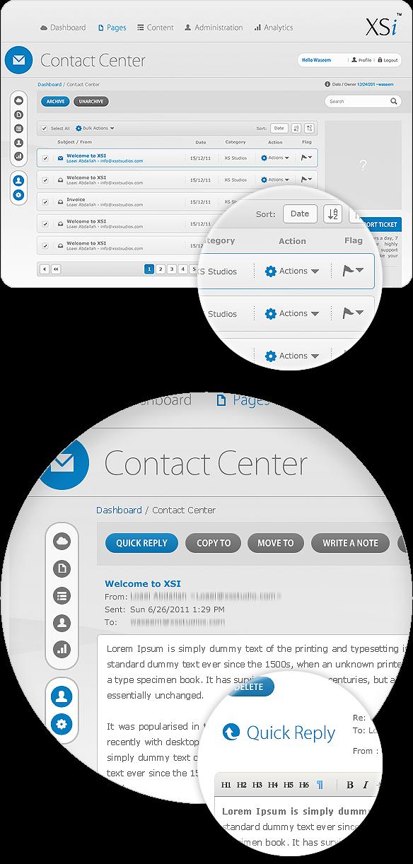 Content Management System Cms Admin Panel On Behance Interface Design User Interface Design User Interface