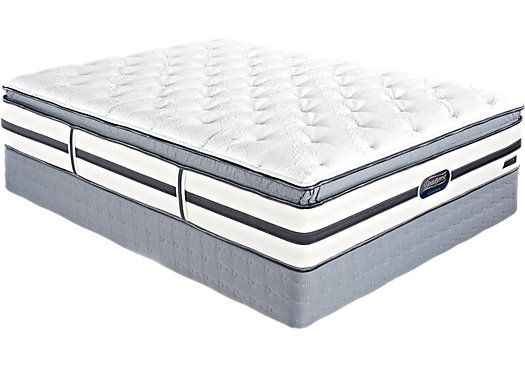 Rooms To Go Mattress >> Beautyrest Recharge Largent Lane King Mattress Bed Ideas