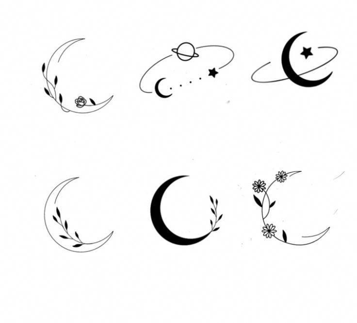 Photo of minimalist space tattoo #Minimalisttattoos-##minimalist ##tattoo #minimalisttattoos #space