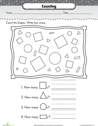 Slideshow: Shape Up: Basic Shapes for Kindergarteners