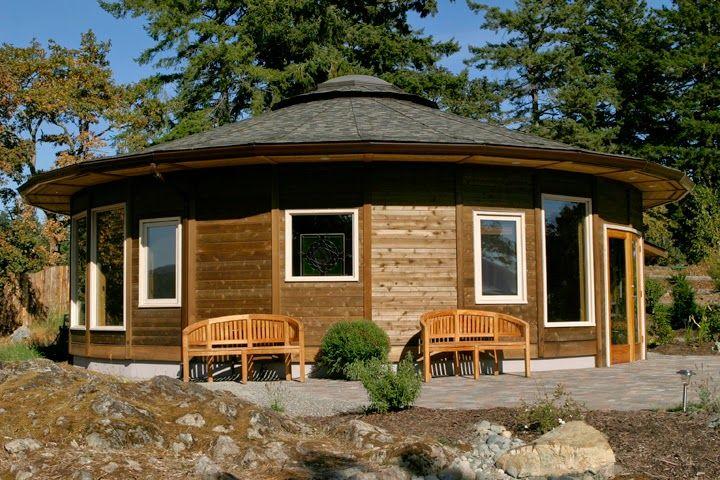 Viviendas Autosuficientes Energias Renovables E Instalaciones En Edificios Minicasa Redonda Arquitectura Casas Ecologicas Modelos De Casas Rusticas