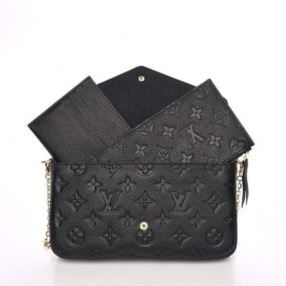 84f8a076844 Louis Vuitton Pochette Felicie Monogram Empreinte (With Accessories ...