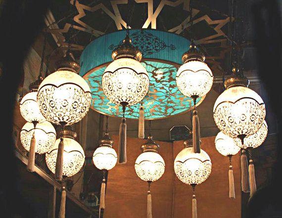 Küchenlampen Hängend ~ 12 kugel osmanisch lampen licht hängende von beautyofturkey auf etsy