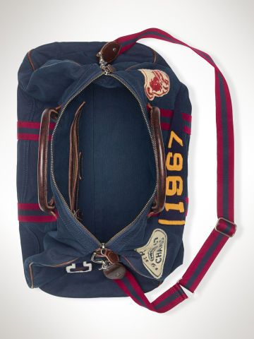 5b504708db Canvas Stadium Duffel Bag - Polo Ralph Lauren Travel Bags - RalphLauren.com